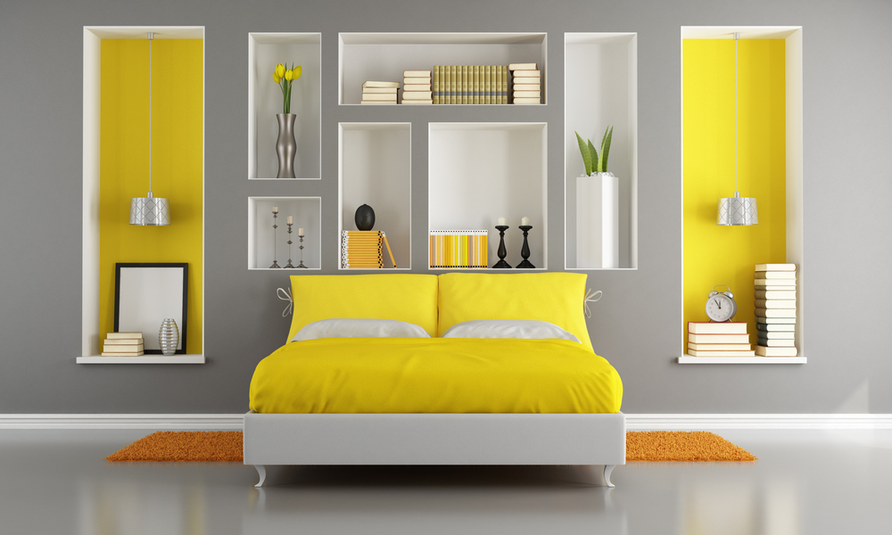 Interior Yellow Accents