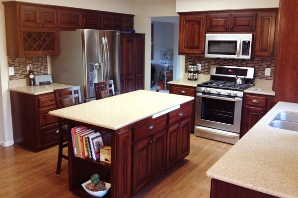 cabinet refinishing in Park Hill
