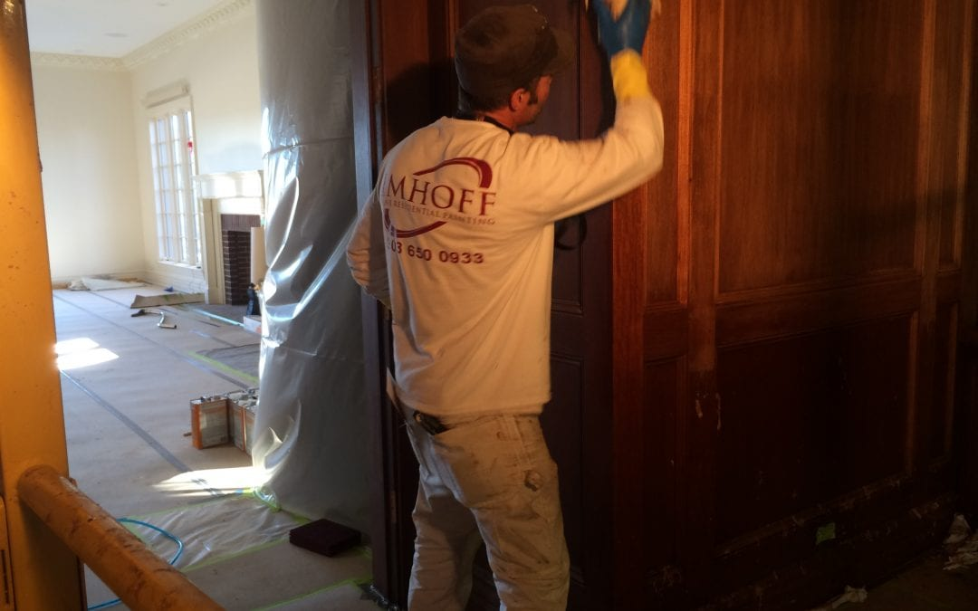 quality painting and wood finishing work