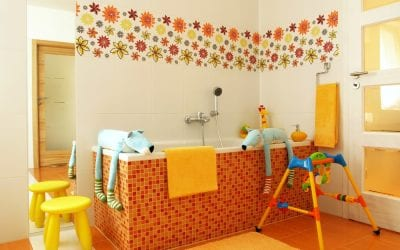 Ideas for Painting a Kid-Friendly Bathroom
