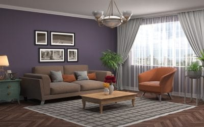 Brighten up a Dark Living Space with Paint