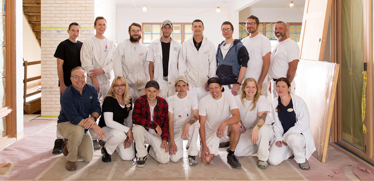 Imhoff Team - Painter for a day!