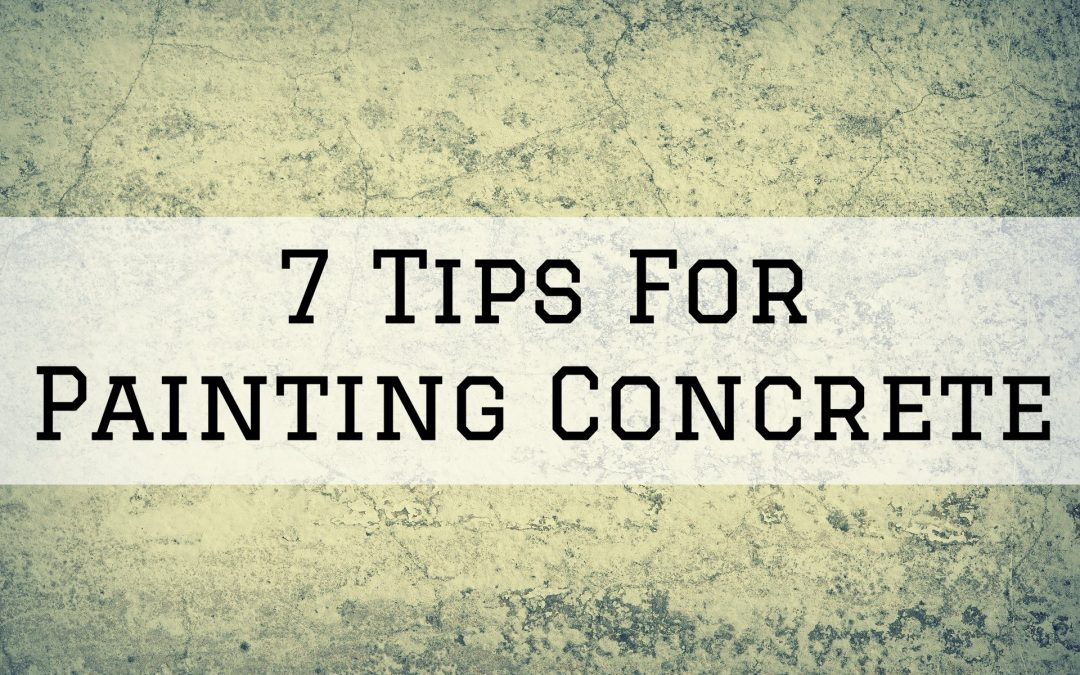 7 Tips For Painting Concrete in Denver Metro, CO