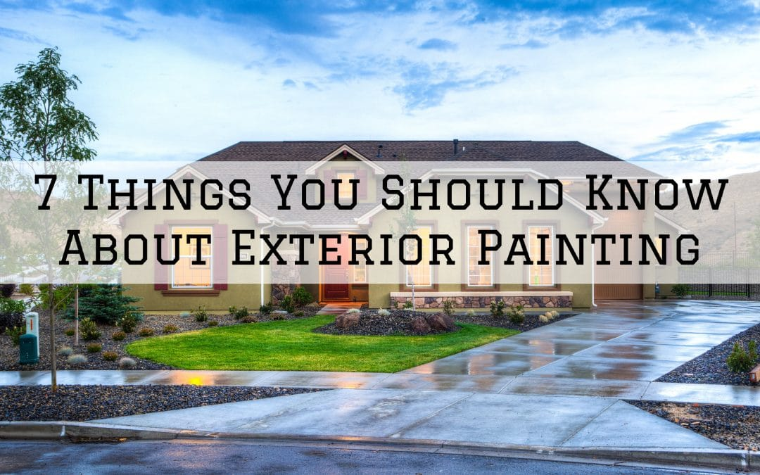 7 Things You Should Know About Exterior Painting in Denver Metro, CO