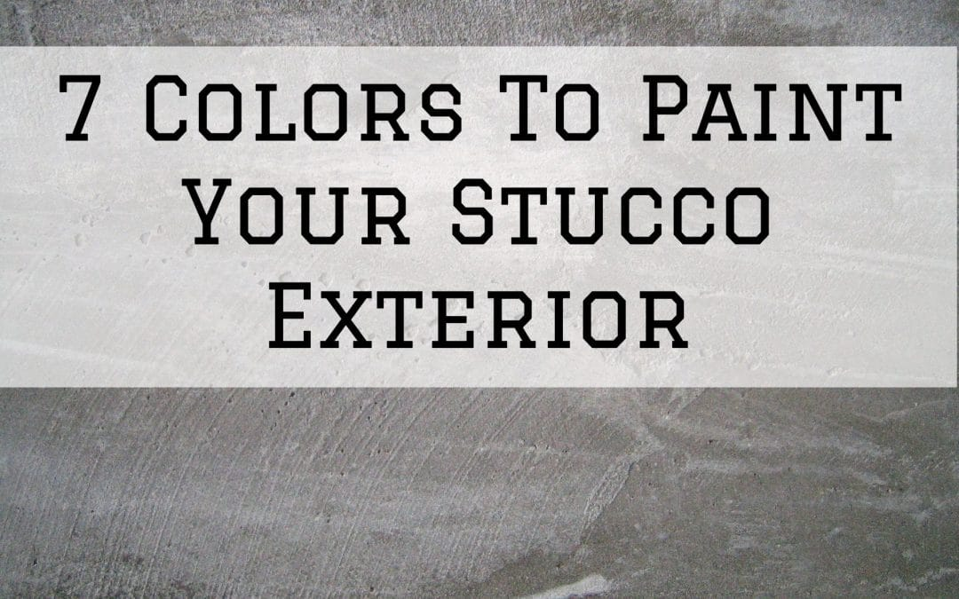 2020-09-05 Imhoff Fine Painting Denver Metro CO Stucco Paint Colors