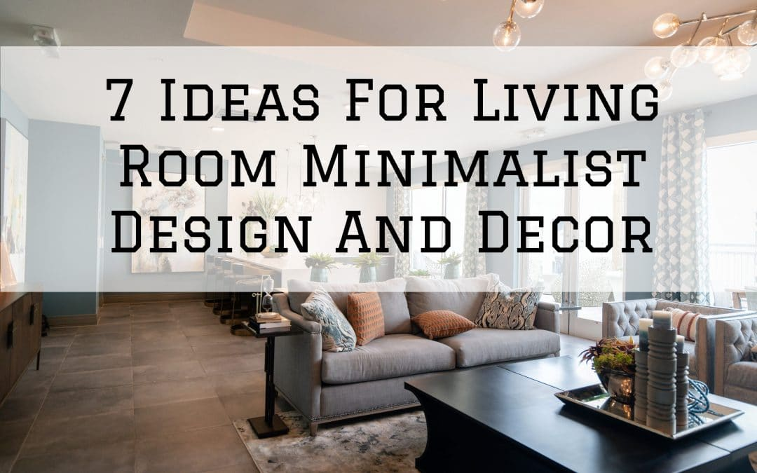 small living area that looks larger due to decor and design