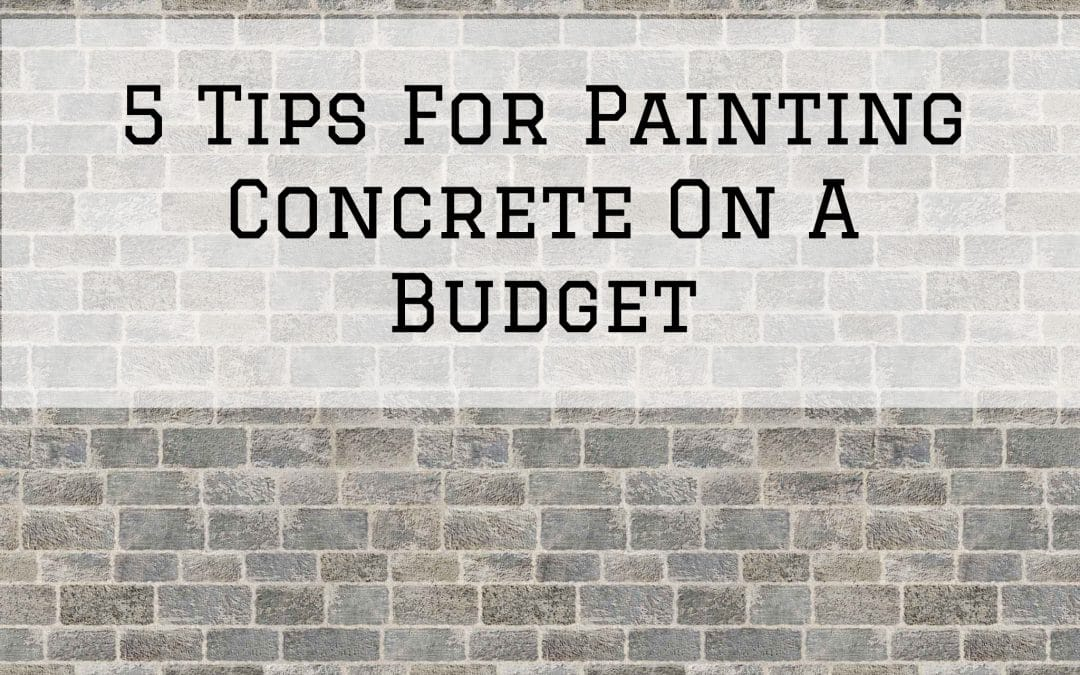 5 Tips For Painting Concrete On A Budget in Denver Metro, CO