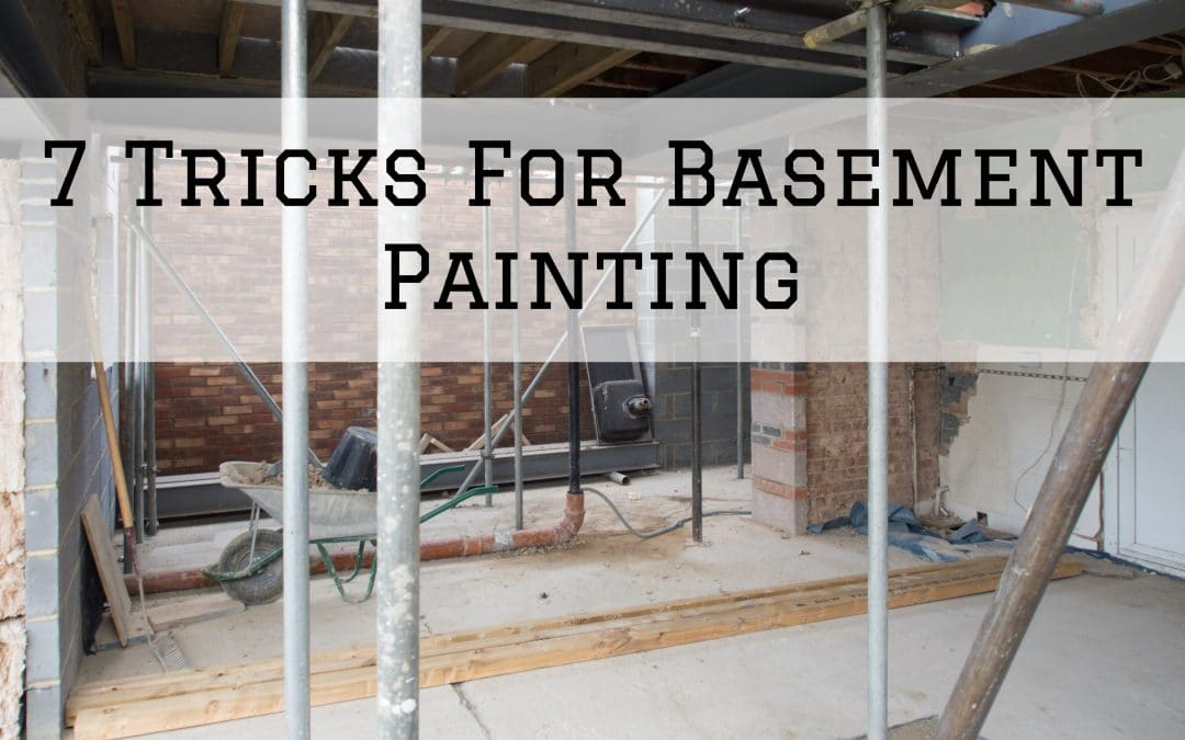 2021-02-05 Imhoff Fine Residential Paintiing Denver Metro CO Basement Painting Tricks