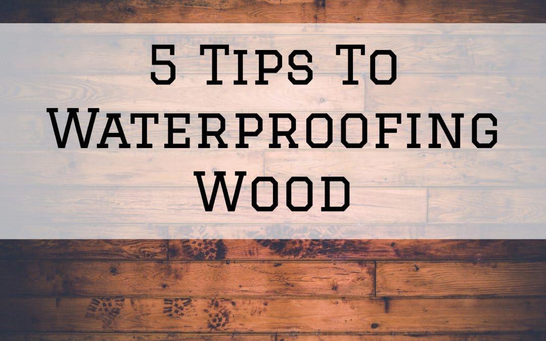 2021-02-09 Imhoff Fine Residential Painting Denver Metro CO Waterproofing Wood Tips