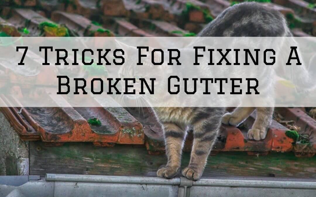 2021-02-28 Imhoff Fine Residential Painting Denver Metro CO Fixing Broken Gutter