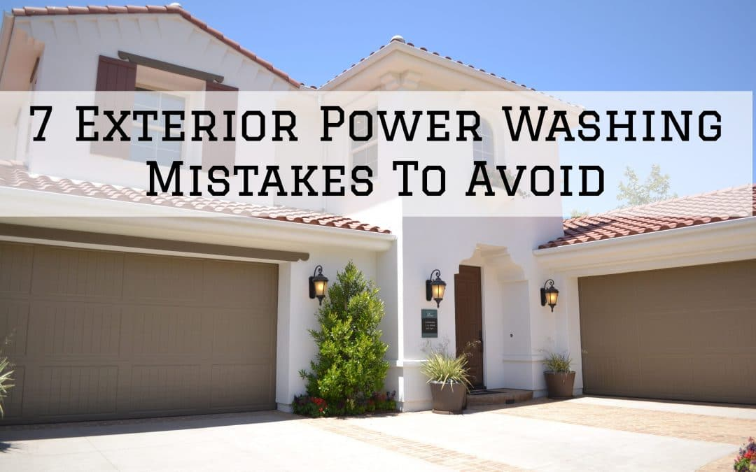 2021-03-25 Imhoff Fine Residential Painting Denver Metro CO Exterior Power Washing Mistakes