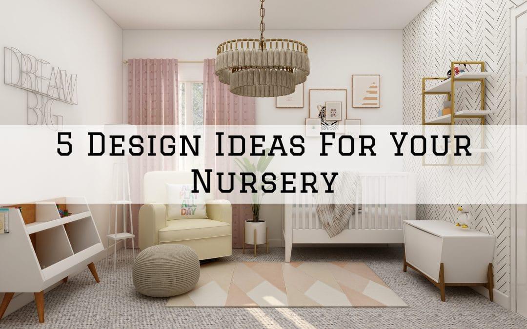 design ideas for your nursery