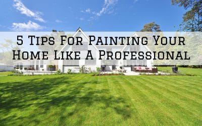 5 Tips For Painting Your Home Like A Professional in Denver Metro, CO