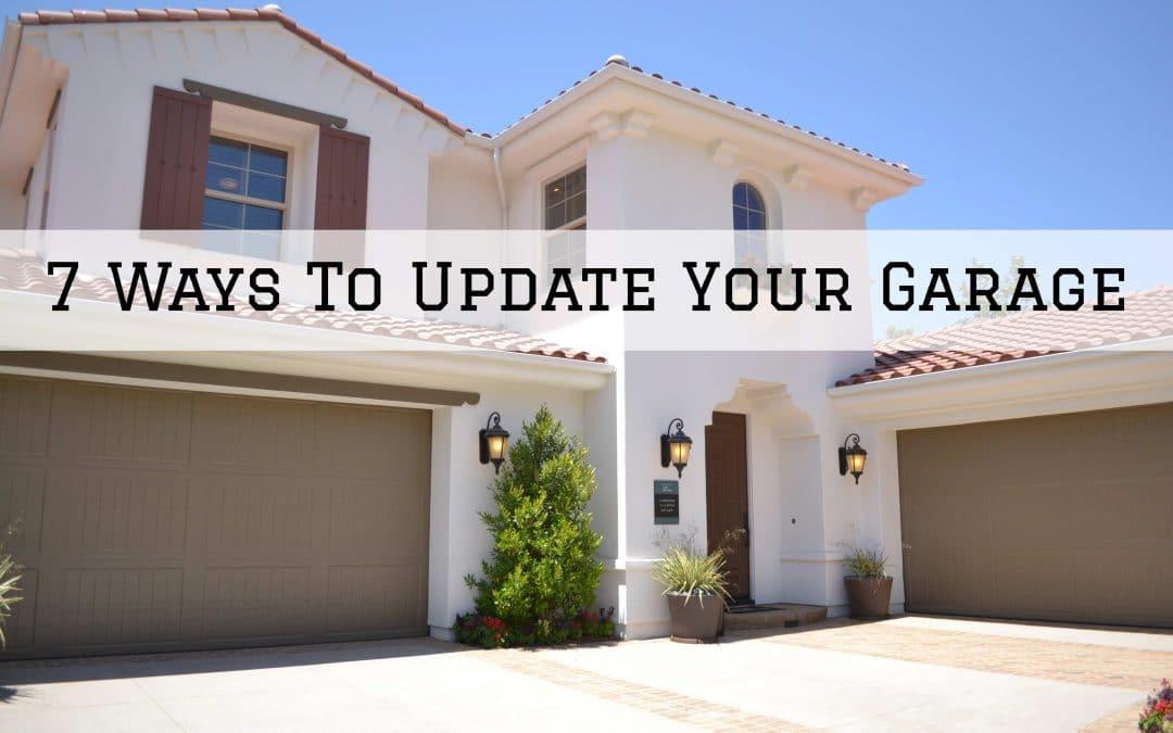 7 Ways To Update Your Garage in Denver Metro, CO
