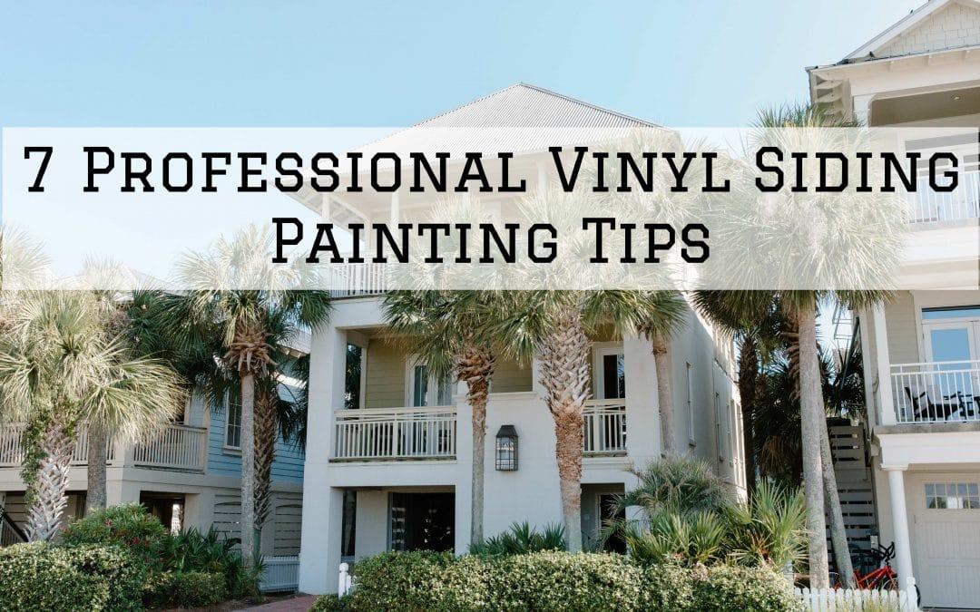 7 Professional Vinyl Siding Painting Tips in Denver Metro, CO