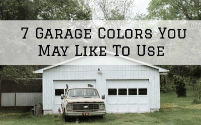 7 Garage Colors You May Like To Use in Denver Metro, CO